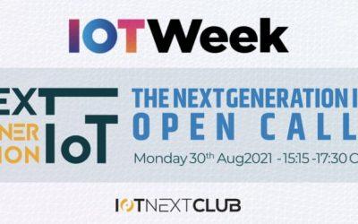 Open calls in IoT week 2021